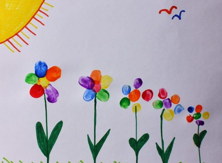 Photo of Fingerabdruck Bilder gestalten – 30 Ideen für Erwachsene und Kinder