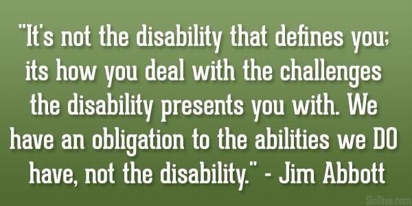 Disability Quotes Motivational Quotes On  Motivational