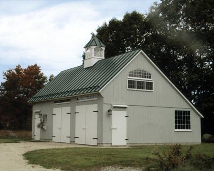 Barns kits barn sheds garage carriage house post for Carriage barn plans