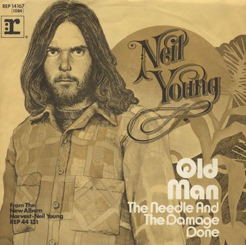 Neil Young Old Man Album Cover Art Vinyl Old Man