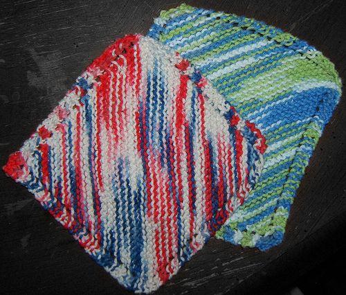 Basic Knitted Dishcloth Pattern Saving Nine Dishcloth Knitting