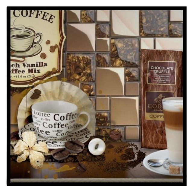 """""""Coffee Bar?"""" by signaturenails-dstanley ❤ liked on Polyvore featuring interior, interiors, interior design, home, home decor and interior decorating"""