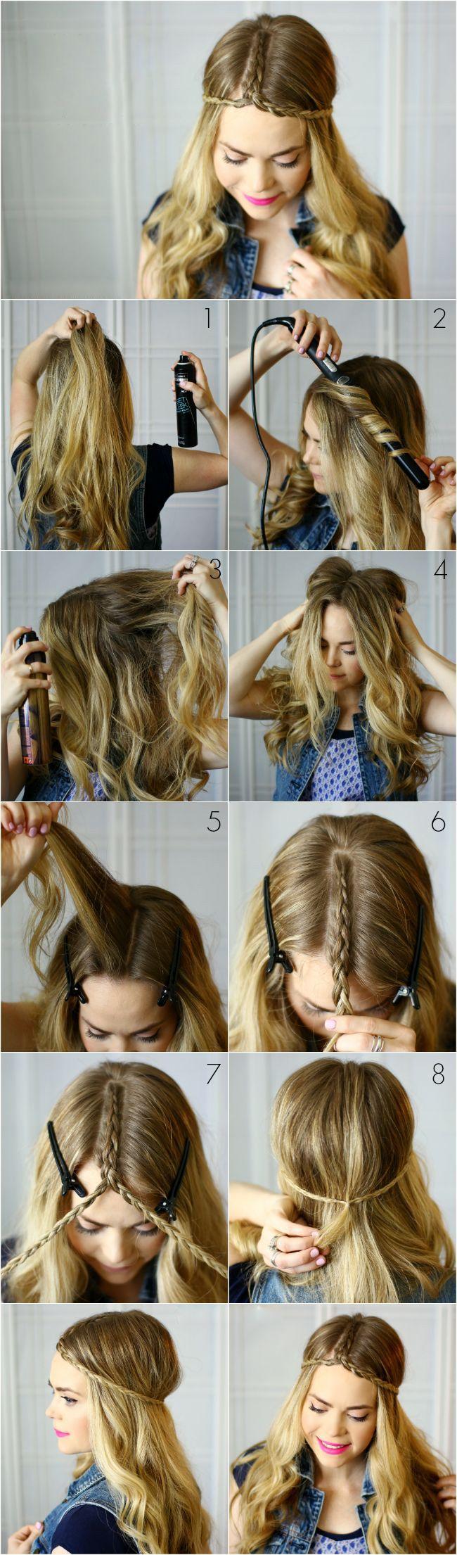 Pin by tonita cuenca on hair pinterest plait hairstyles hair