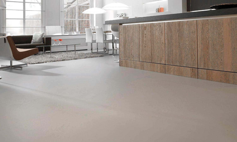Gietvloer Betonlook Keuken : Gietvloer betonlook keuken betonvloer cement