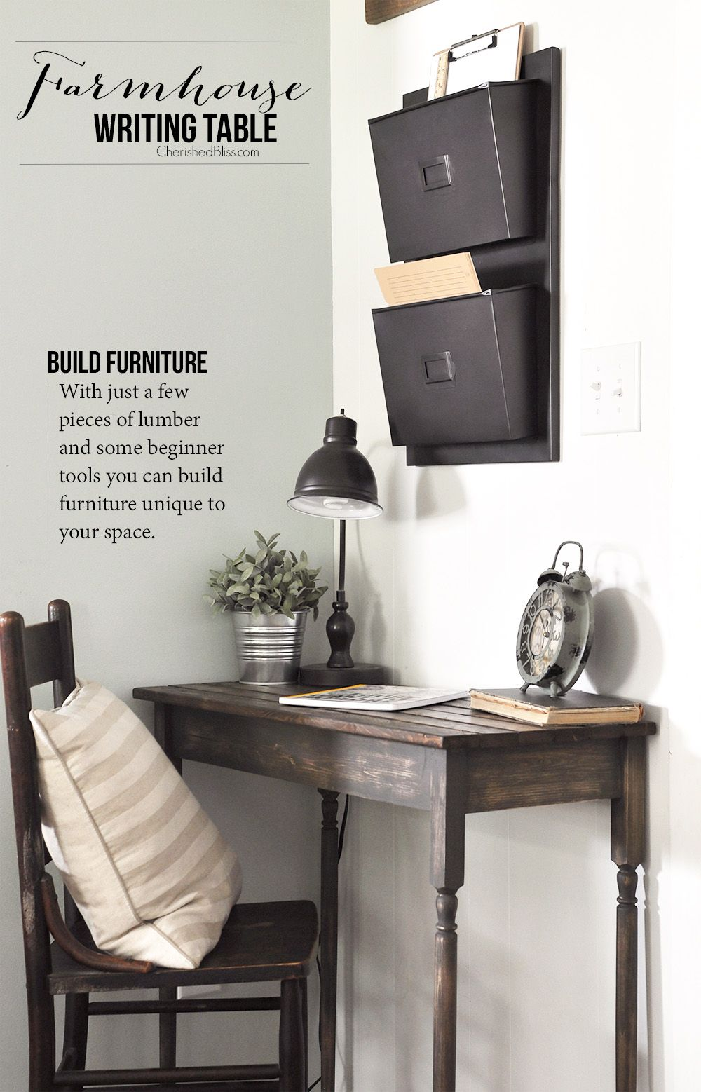 Best 25 small writing desk ideas on pinterest small corner desk office rental space and - Writing corner ideas ...