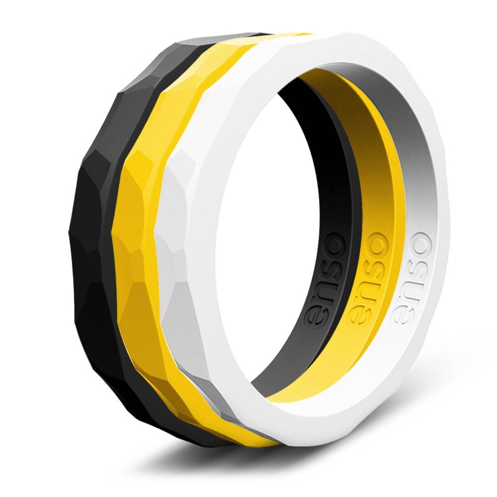 Enso Rings, Silicone Wedding Band