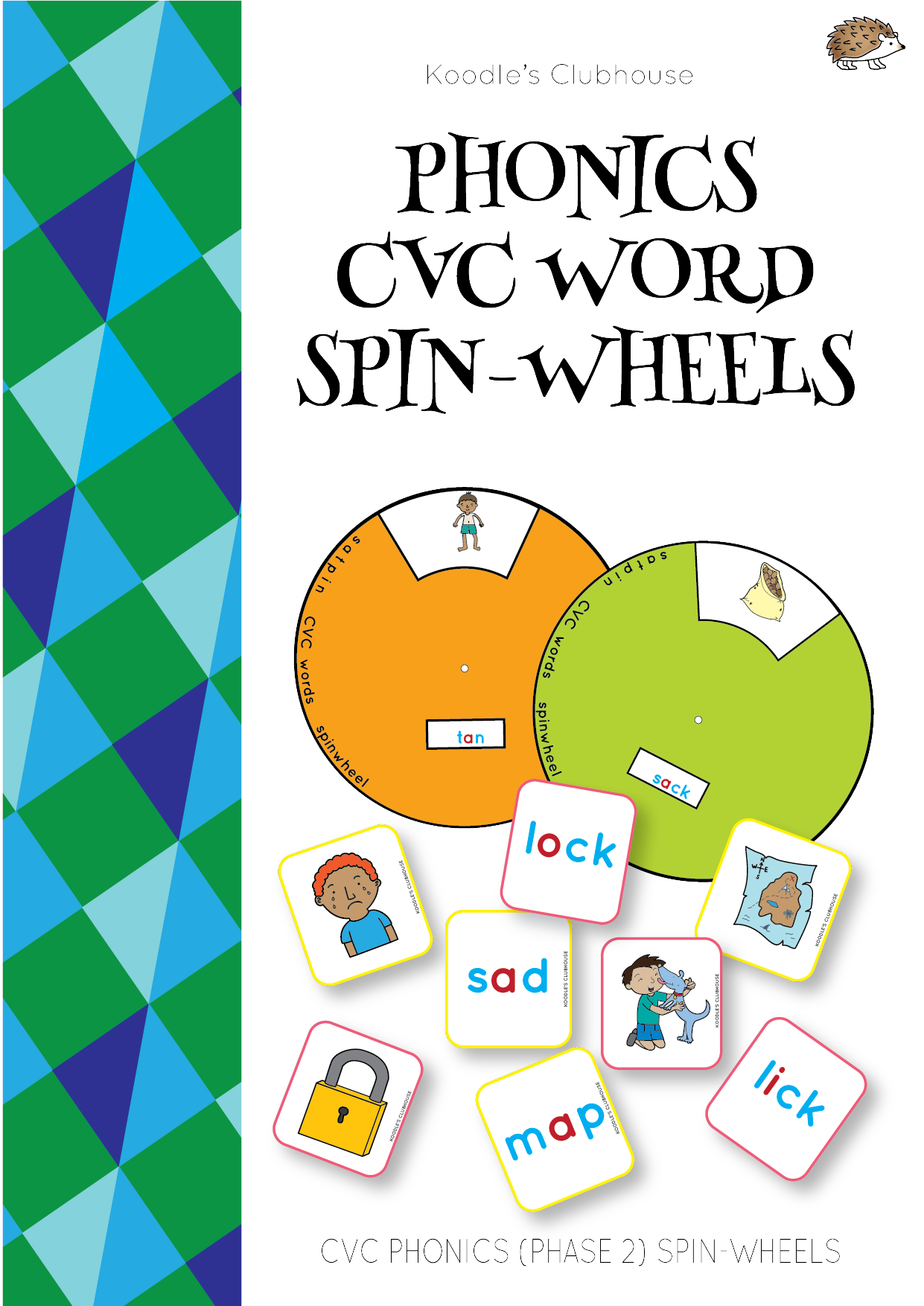 Phonics Spin Wheel For Cvc Words
