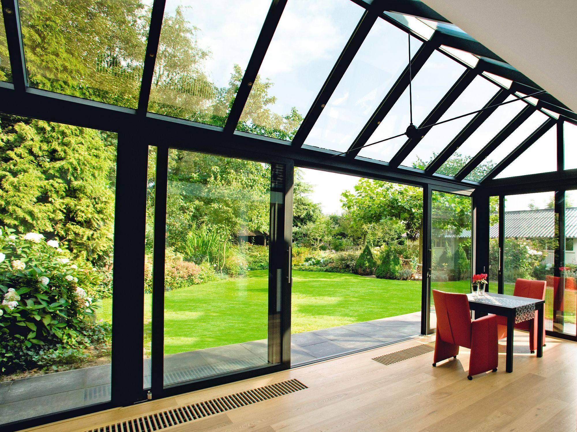 Ventanal de aluminio Concept Roof 120 by Reynaers Aluminium ...