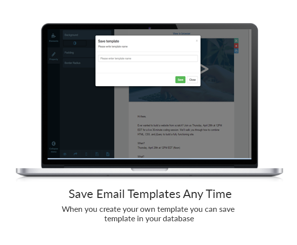 Drag & Drop Email Template Builder for PHP | Email newsletters and ...
