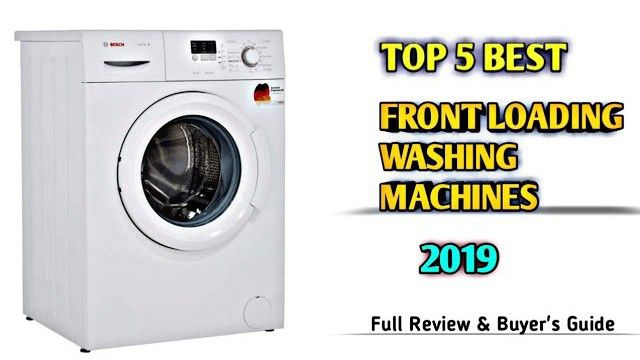 "Top 5 best ""front loading fully automatic washing machines ..."