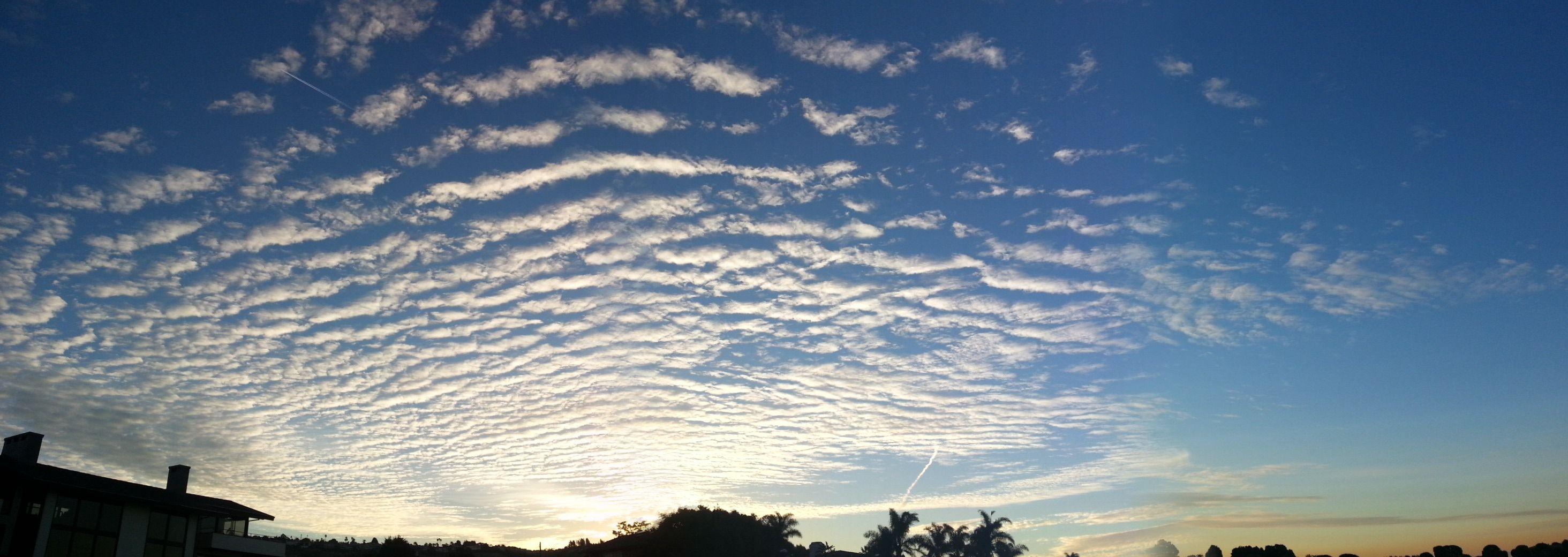 扇方うろこ雲