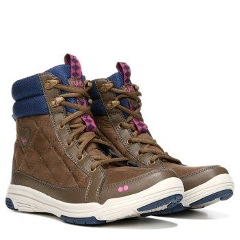 Ryka.Quilted microfiber upper in a boot