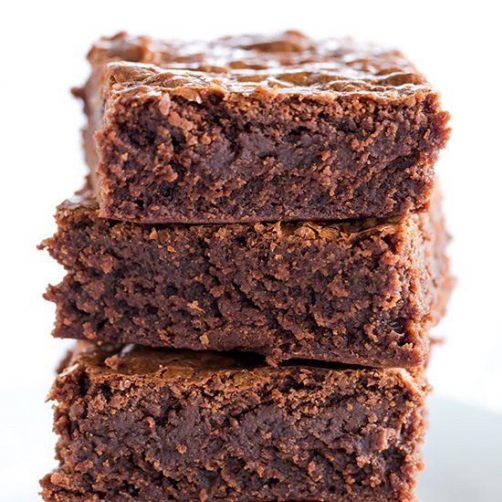 Chocolate Chip brownie goodness that's gluten free and vegan.