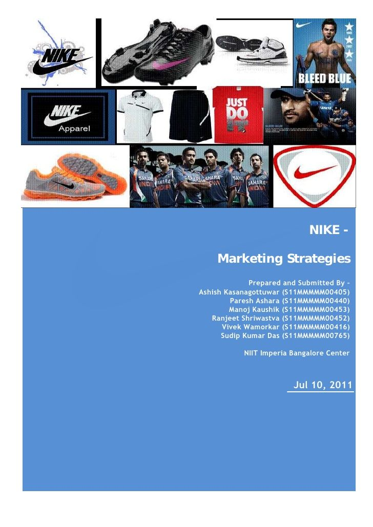 nike marketing strategy in india