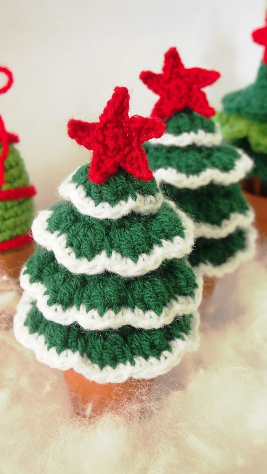 Sol de noche deco crochet flocked christmas tree free pattern sol de noche deco crochet flocked christmas tree free pattern and tutorial bankloansurffo Choice Image