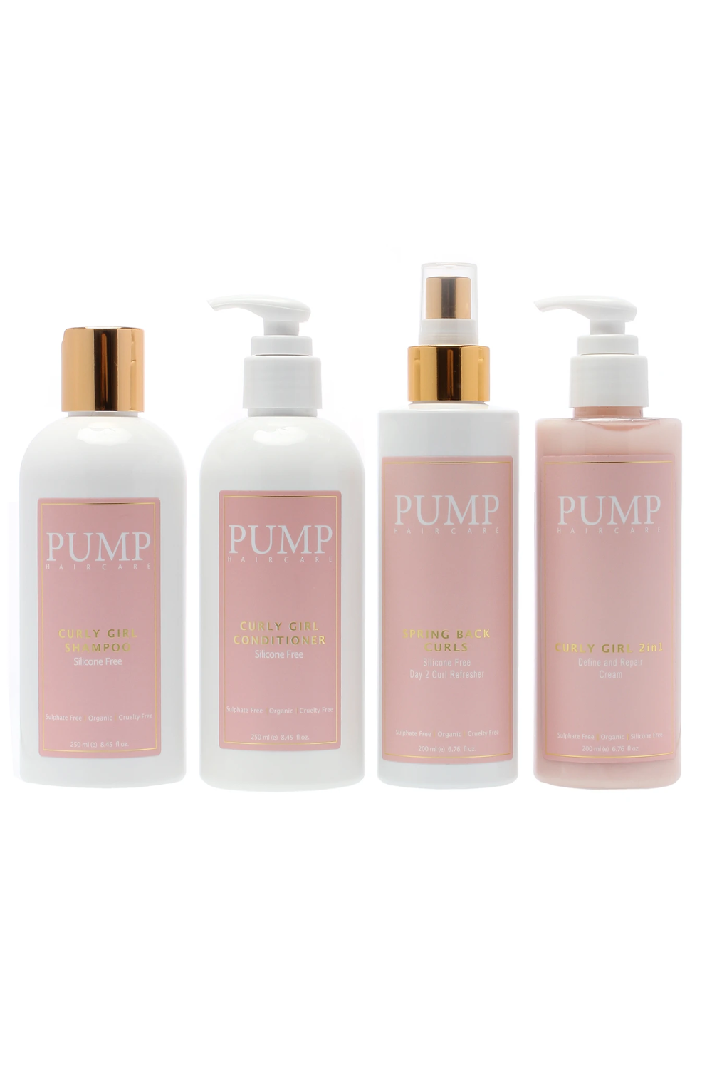 Pump Curly Girl Friendly Pack Pump Haircare in 2020
