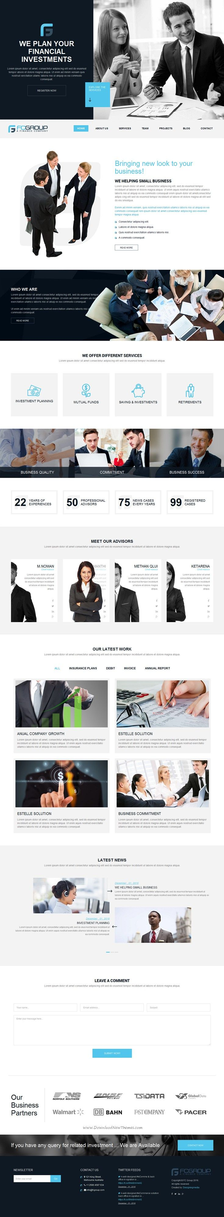 Finance group multi purpose html5 website template pinterest finance group is a custom design minimal bootstrap html5 template for advisor attorney financial business or corporate website download now maxwellsz