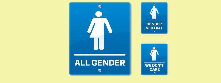 california gov. signs law mandating gender-neutral bathroom signs