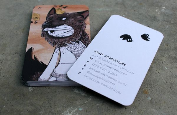 Top 25 ideas about Illustration - business cards on Pinterest ...