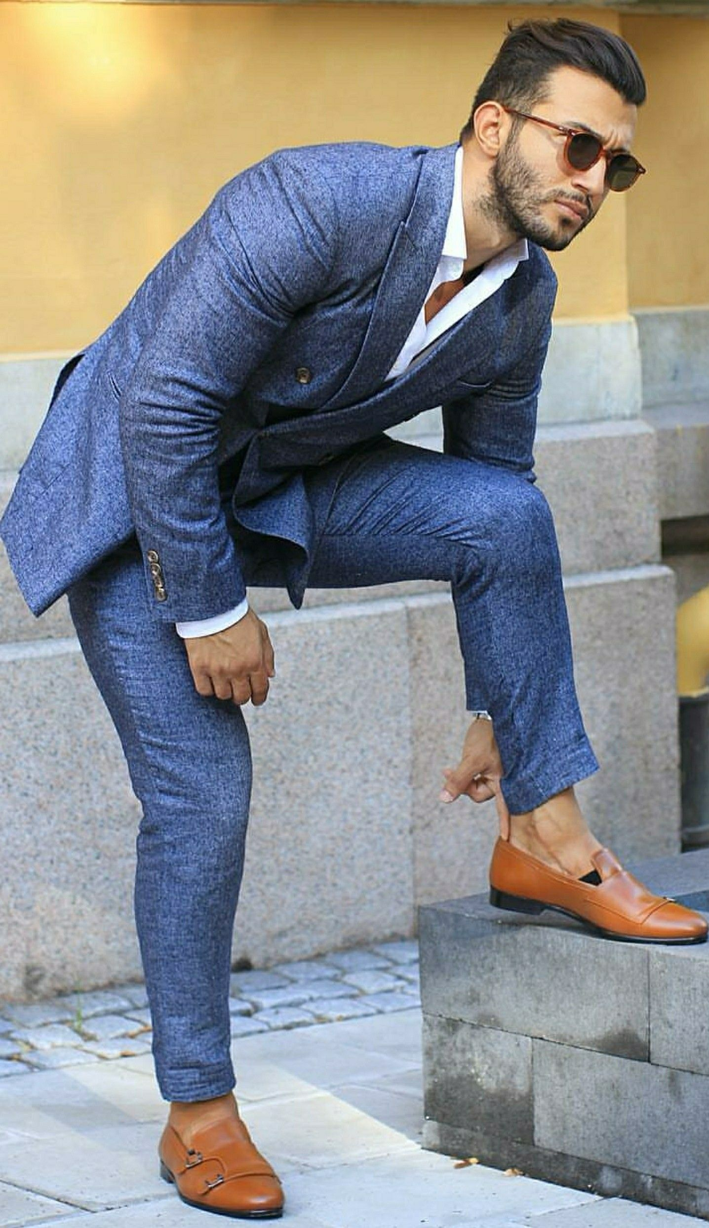 The blue suit collection in mens fashion pinterest mens