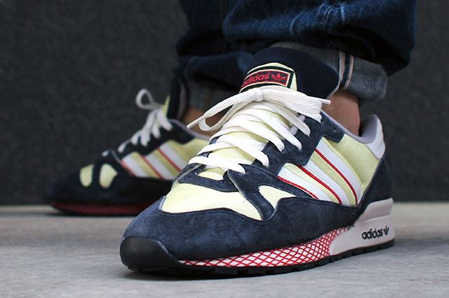 ADIDAS ZX 710 (NAVY/CITRINE) - Sneaker Freaker | Adidas zx, Adidas ...