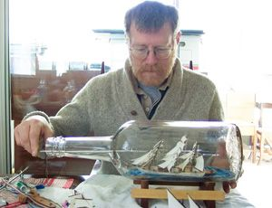 A Ship in a Bottle Lands in Olde Towne | HamptonRoads.com ...