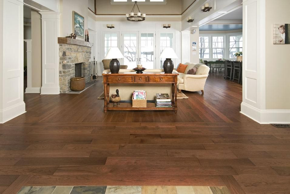 Walnut Stained Hickory Floors Yahoo Image Search Results Hickory Hardwood Floors House Flooring Wood Floors Wide Plank