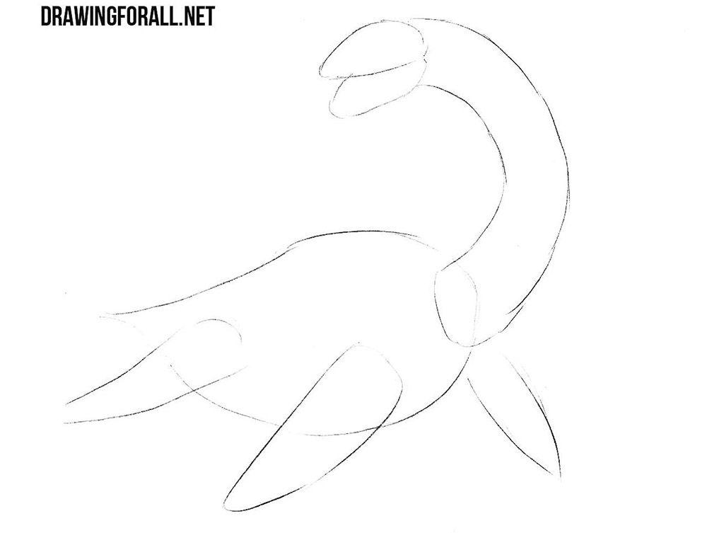 Loch Ness Monster Drawing Lesson Loch Ness Monster Monster