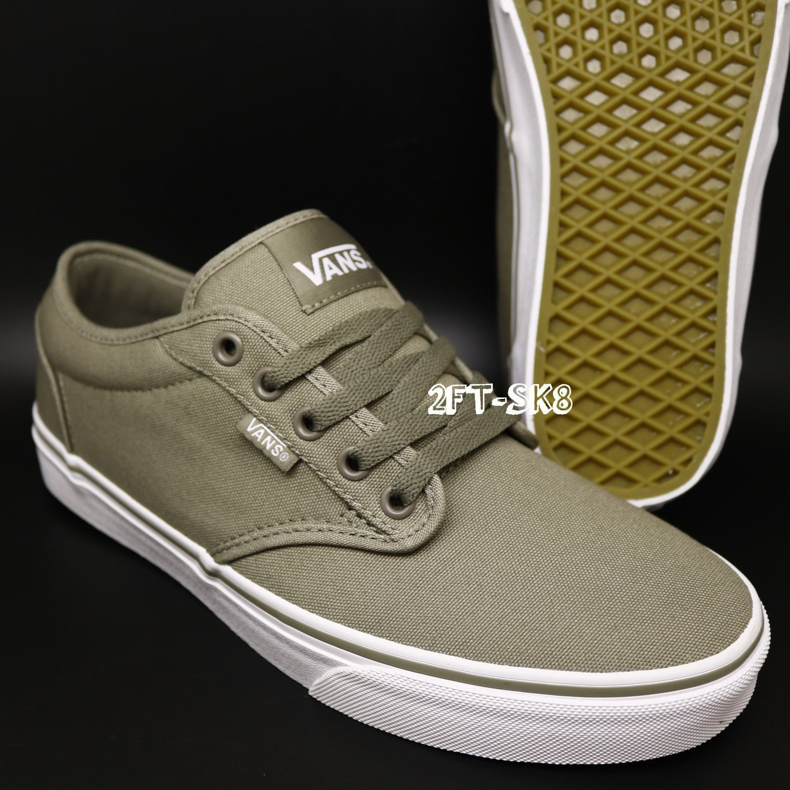 vans atwood checkers canvas shoes