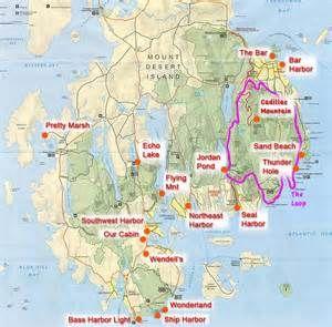 Acadia National Park Trail Map - Bing images | Acadia National Park ...