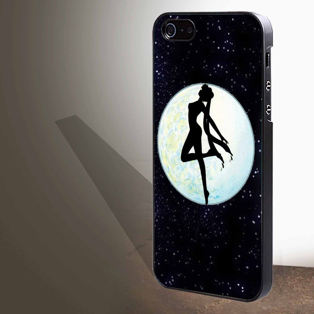 """Sailor Moon In The Glitter for iphone 4/4s/5/5s/5c/6/6 , Samsung S3/S4/S5/S6, iPad 2/3/4/Air/Mini, iPod 4/5, Samsung Note 3/4 Case """"005"""""""