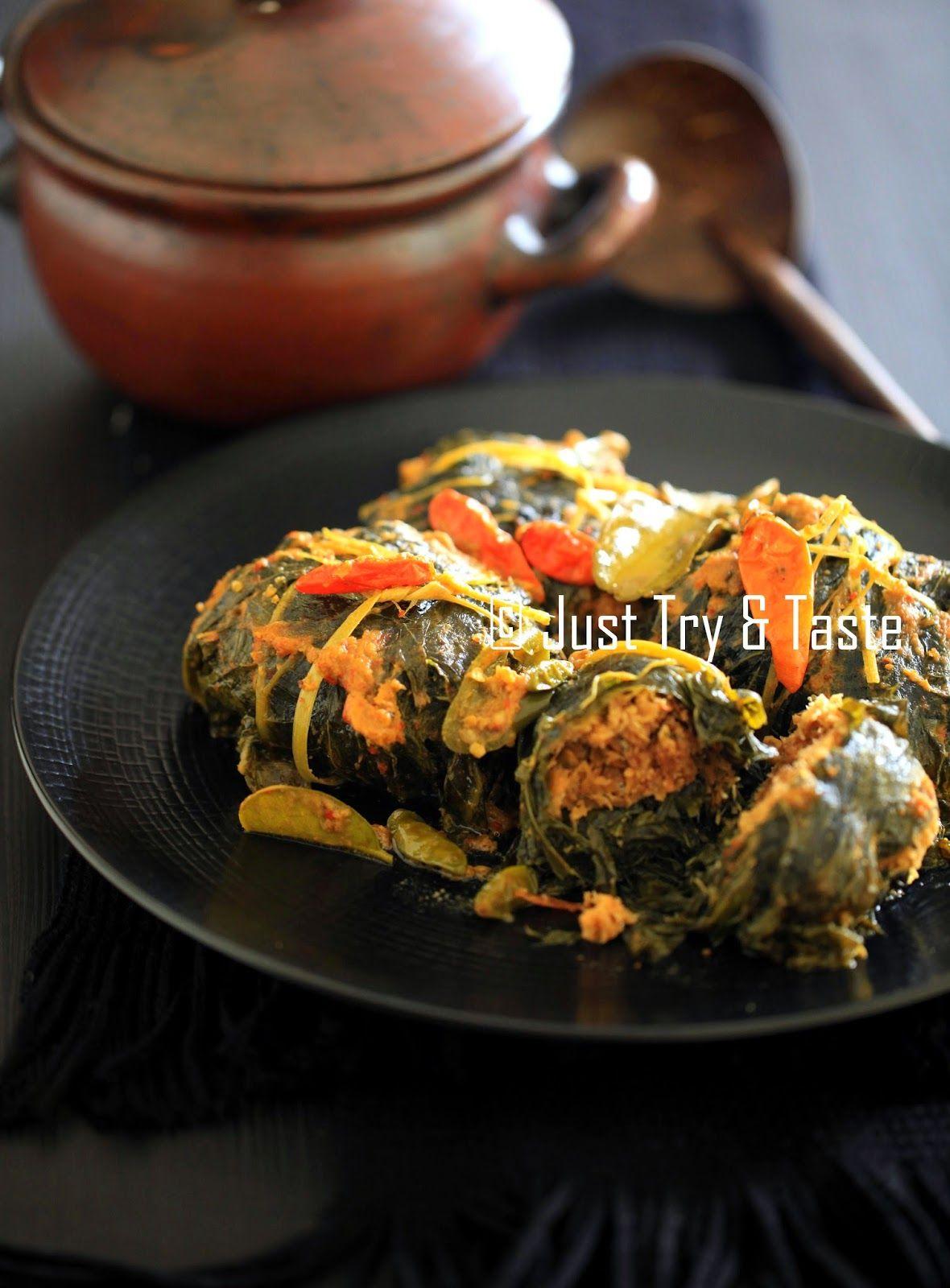 Buntil Daun Pepaya Dan Daun Singkong Masakan Indonesia Resep Vegetarian Resep Masakan Indonesia