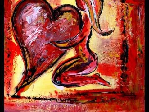 Herzbilder Abstrakt in Acryl - Herz Bilder und Gemälde - Abstract ...