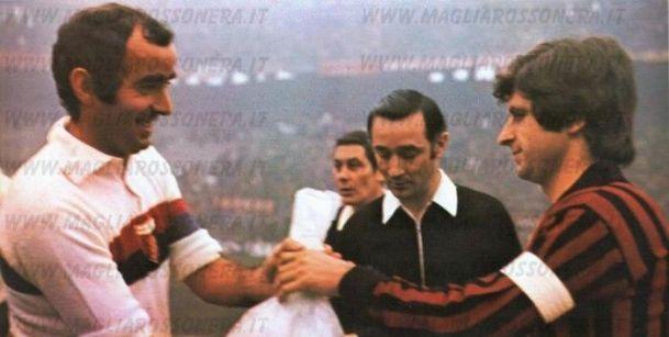 13 gennaio 1974, Milan vs Genoa 2-0