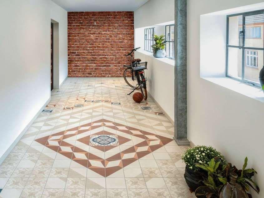 Piastrelle geometriche tendenza casa 2016 pavimento rivestimento