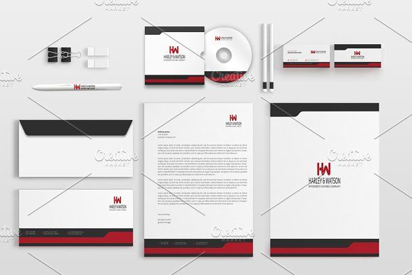 Corporate Stationery Pack by BettyDesign on https://creativemarket.com/BettyDesign/1231460-Corporate-Stationery-Pack