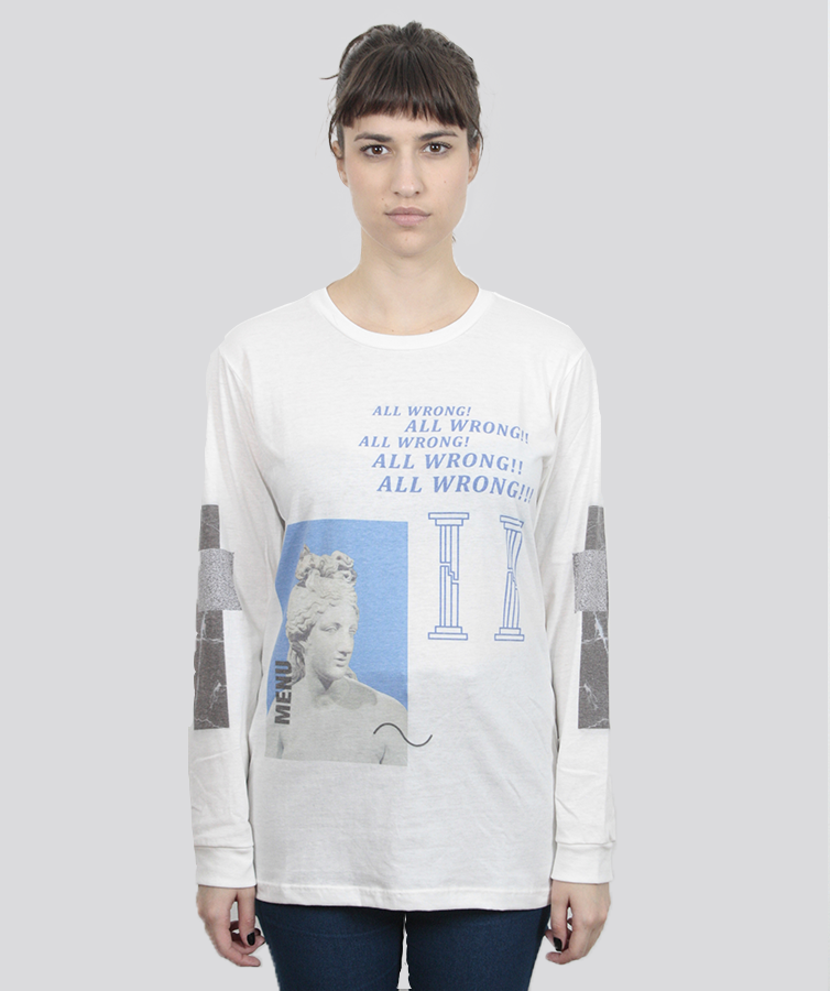 CAMISETA AMP M/L ALL WRONG SGHL2337