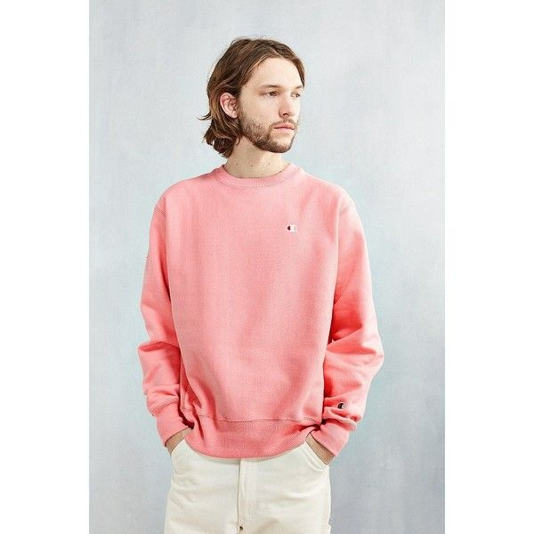 Pink Pastel Burnout Sweatshirt ~Who cares if it's mens?~ | Candy ...