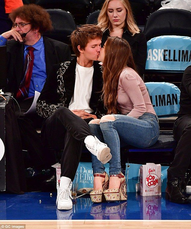 who is ansel elgort dating in real life