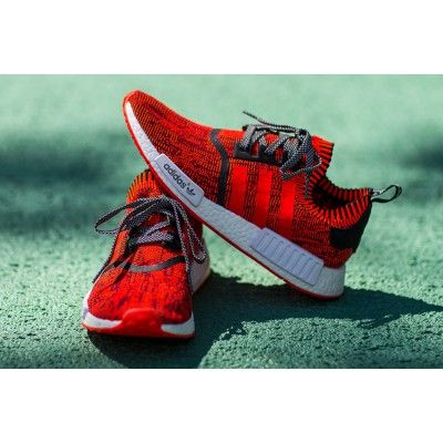 92eeb2a03 Adidas Originals NMD Red Apple Red White Shoe Cheap Sale