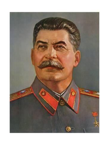 005 Giclee Print Portrait of Joseph Stalin 24x18in Joseph