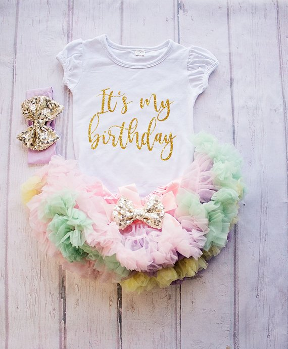 16501f01273 Girl first Birthday Outfit