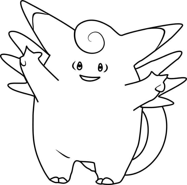 Pokemon Coloring Pages Clefairy Bird Coloring Pages Pokemon Coloring Pages Pokemon Coloring