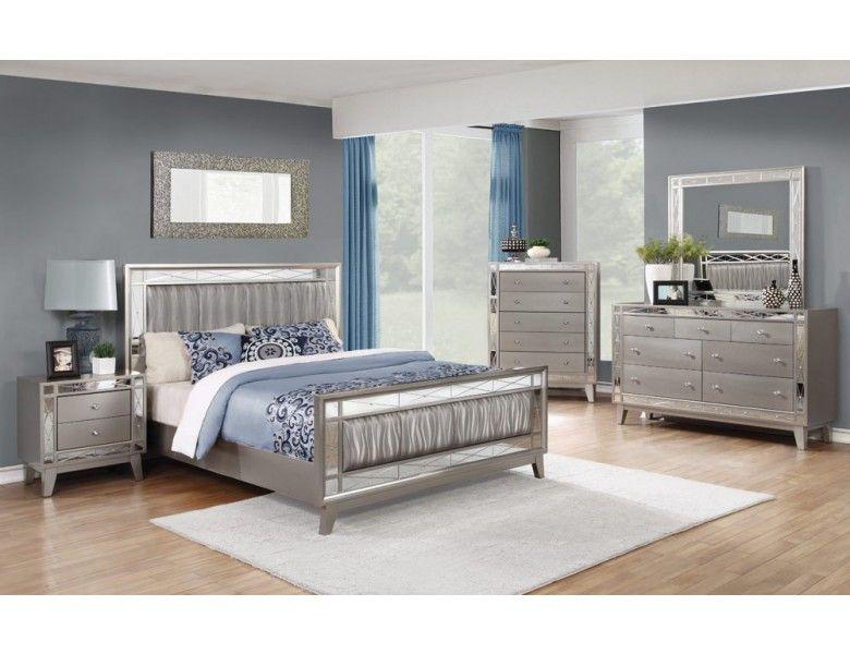 verspiegeltes schlafzimmer möbel in ein kleines