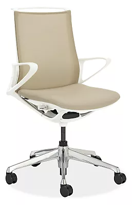 Plimode Office Chair In White Modern Office Chairs Task Chairs Modern Office Furniture Room Board In 2020 Modern Office Chair Office Furniture Modern White Modern Office