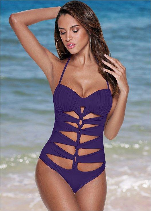 9bffea864b Drama queen one-piece | Swimsuit | Swimsuits, Swimwear fashion, One ...