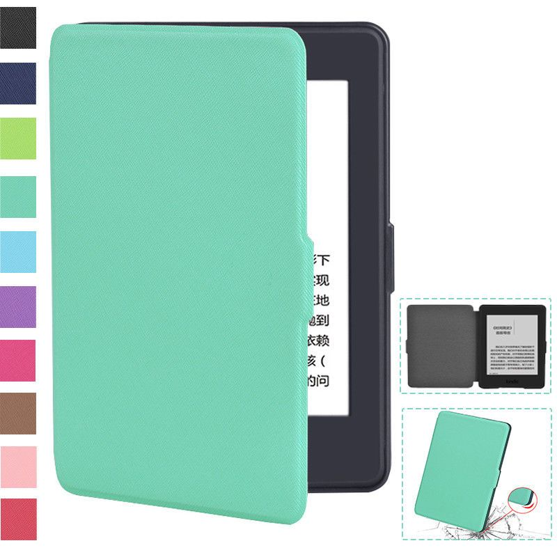 Magnetic PU Leather Smart Cover Case For Amazon Kindle