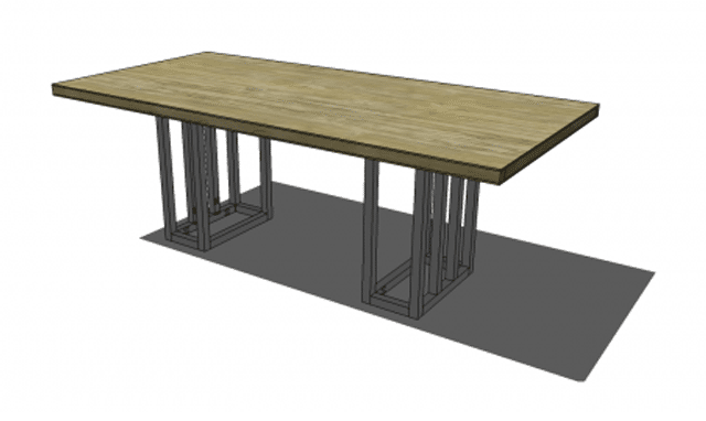 Build Your Own Dining Room Table With These Free Plans  Dining Delectable Design Your Own Dining Room Table Design Ideas