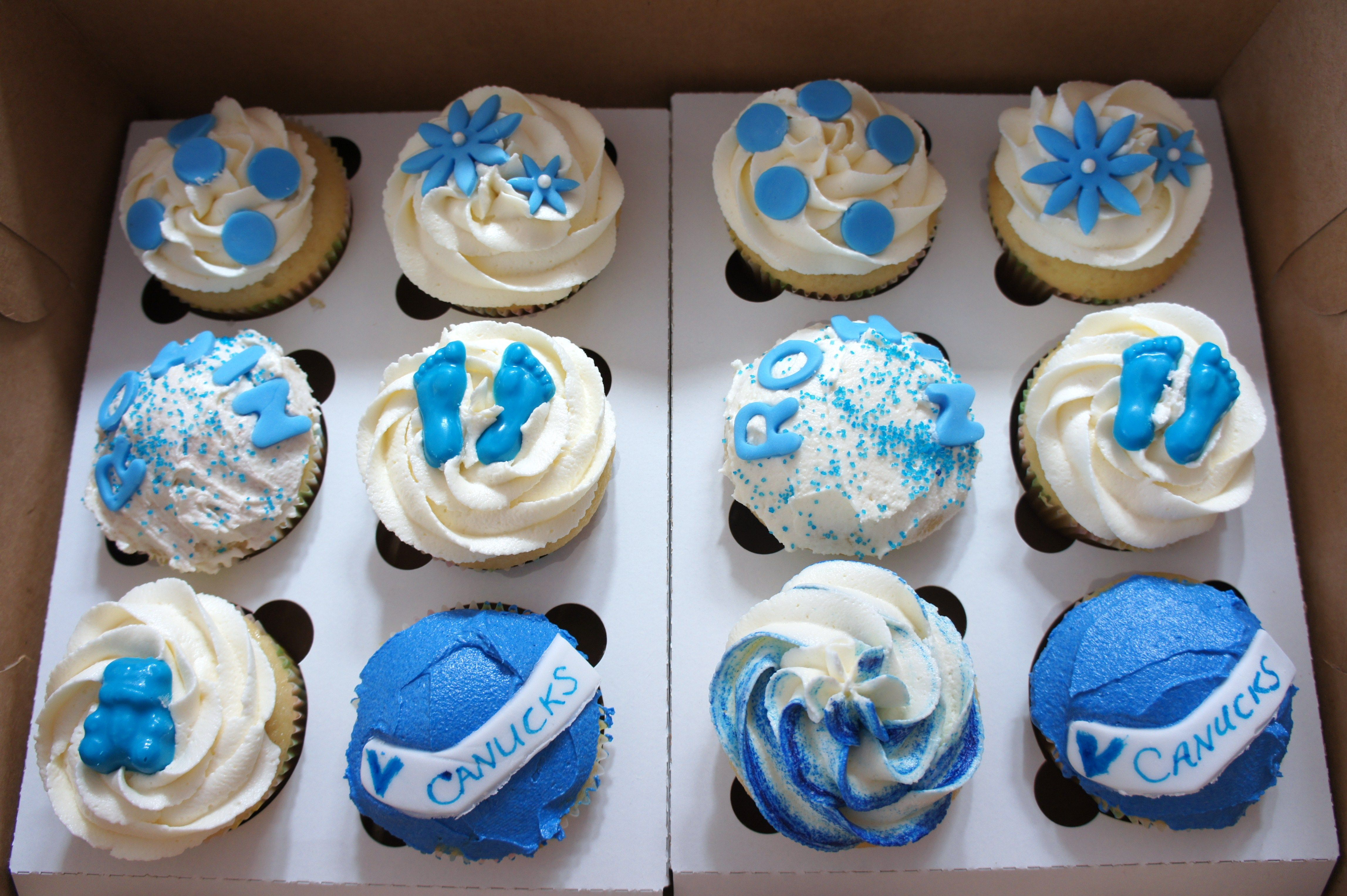 Image Result For Boy Baby Shower Cupcakes Recipesdecorating