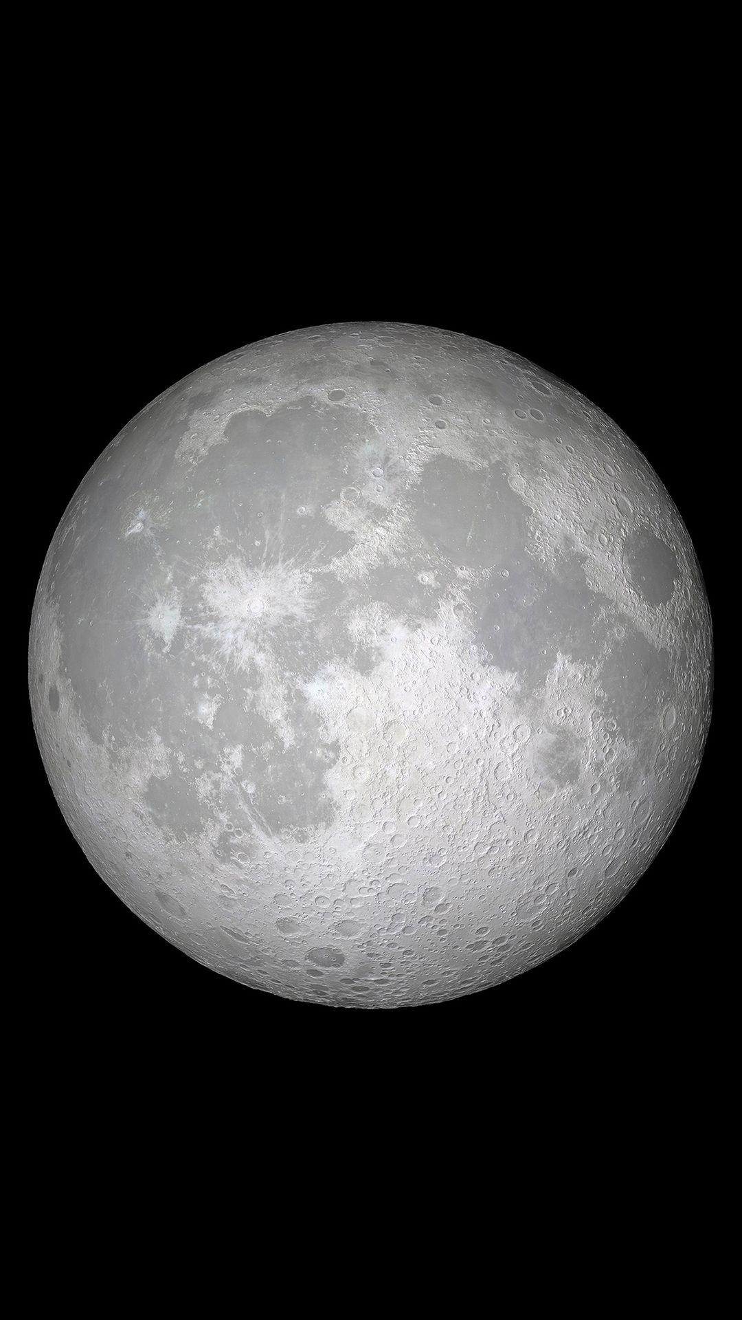 Ios 11 Moon 4k In 1080x1920 Resolution Duvar Kagitlari Soyut Fotografcilik Iphone Duvar Kagitlari